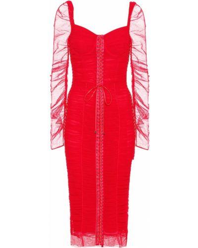 Летнее платье из фатина шелковое Dolce & Gabbana