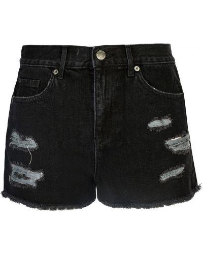 Czarne szorty na lato Juicy Couture