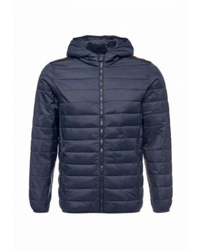 Синяя утепленная куртка Piazza Italia