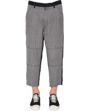 Spodnie wełniane z paskiem Comme Des Garcons Shirt