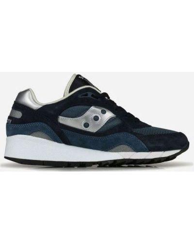 Кожаные кроссовки для бега - серебряные Saucony