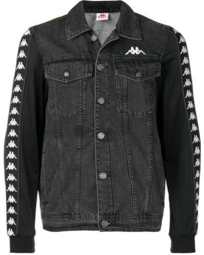 Джинсовая куртка классическая на пуговицах Kappa