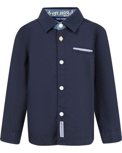 Синяя рубашка Original Marines