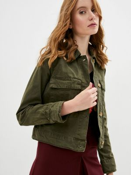 Зеленая облегченная куртка Twist & Tango