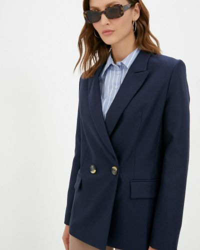 Синий зимний пиджак Shartrez