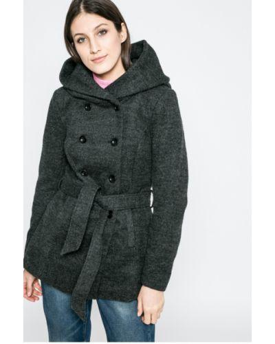 Утепленная куртка с капюшоном с поясом Only