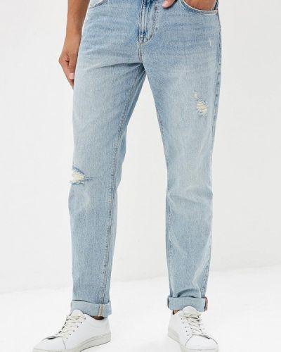 Прямые джинсы голубой турецкий Colin's