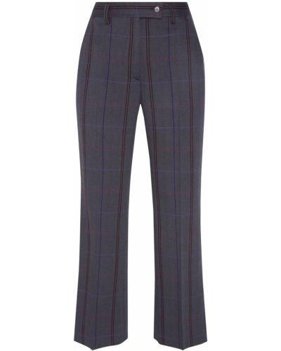 Свободные брюки со стрелками фиолетовые Acne Studios
