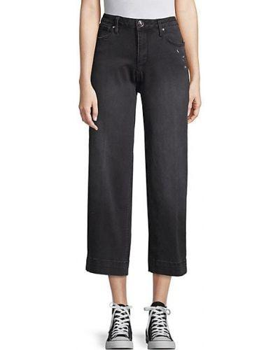 Укороченные джинсы с карманами с вышивкой винтажные Seven7