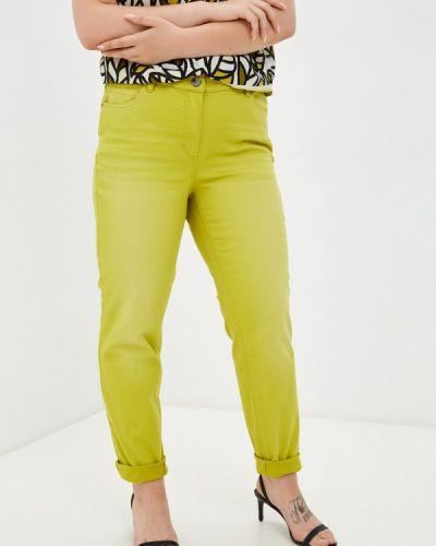 Зауженные зеленые брюки Samoon By Gerry Weber