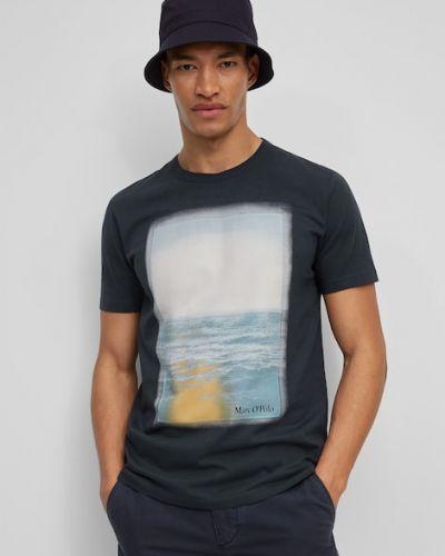 T-shirt bawełniany z printem Marc O Polo