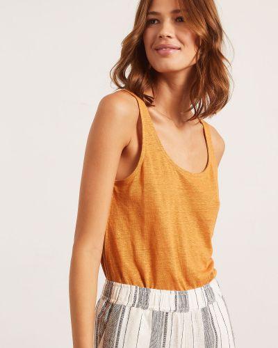 Piżama - pomarańczowa Etam