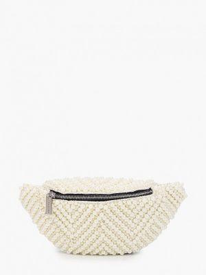 Текстильная поясная сумка - бежевая Skinnydip