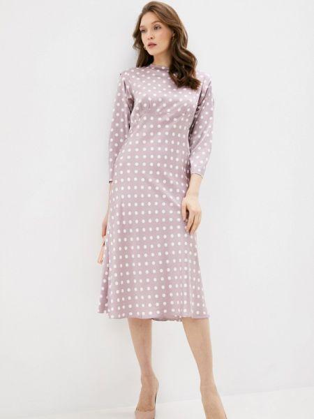 Платье прямое розовое Imocean