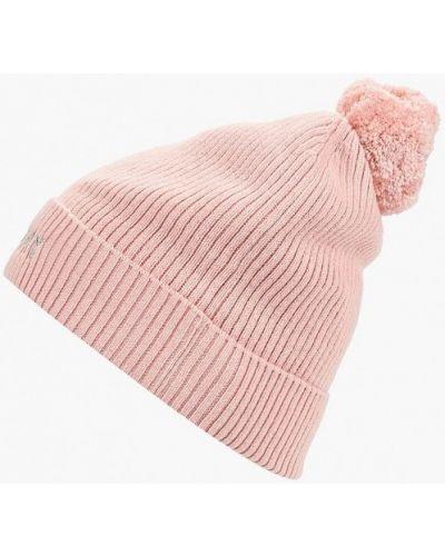 Розовая шапка осенняя Tommy Hilfiger