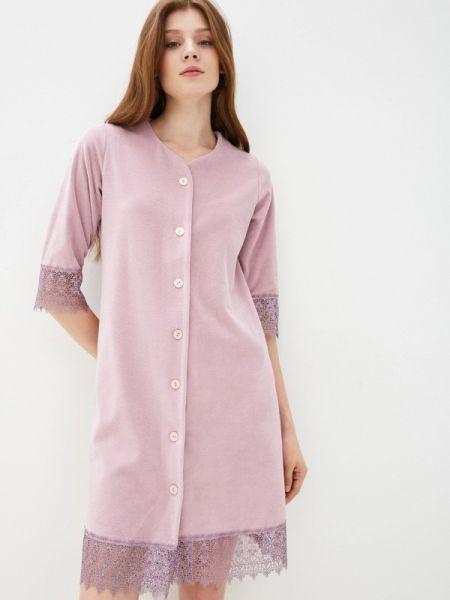 Платье розовое платье-халат Lika Dress