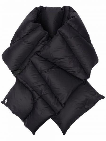 Пуховый шарф - черный Bacon