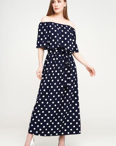 Платье макси длинное - синее Modniy Oazis