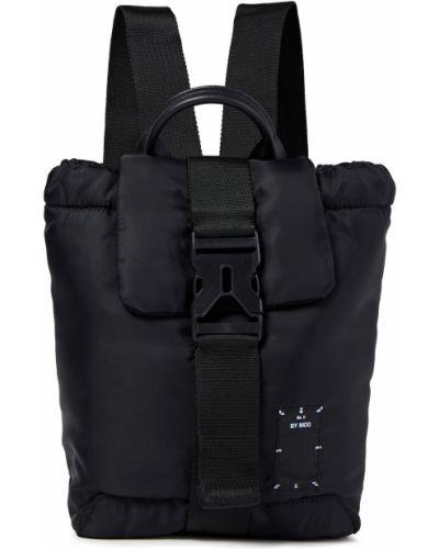 Czarny plecak z klamrą Mcq Alexander Mcqueen