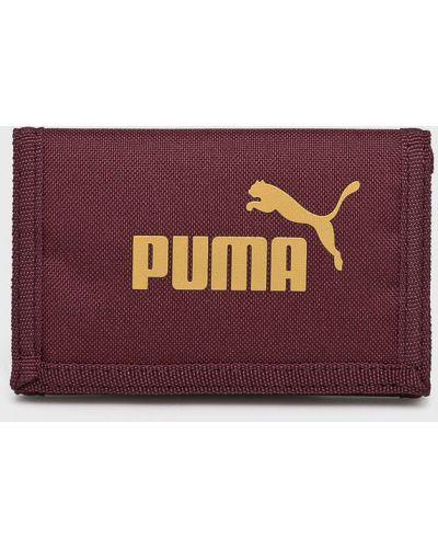 Кошелек текстильный бордовый Puma