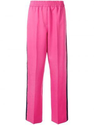 Różowe spodnie bawełniane peep toe Calvin Klein 205w39nyc