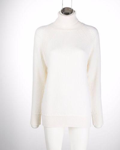 Вязаный джемпер - белый Woolrich