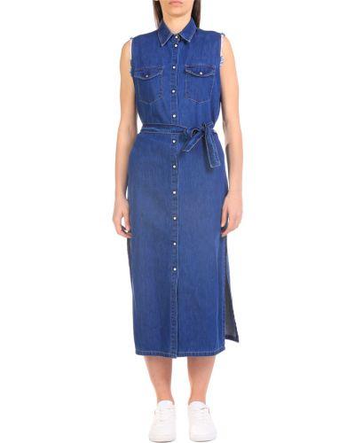 Niebieska sukienka Jijil
