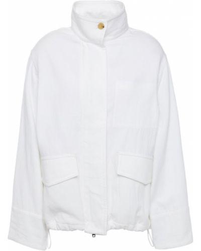 Белая куртка двусторонняя Vince