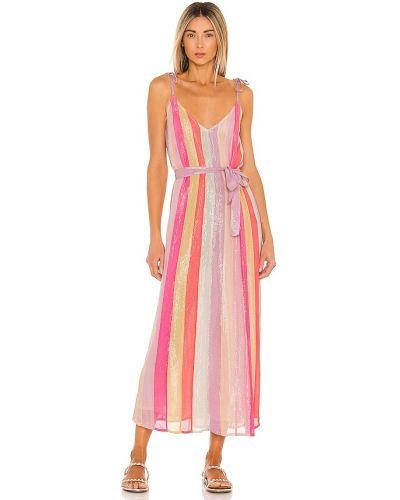 Розовое текстильное сарафан Sundress