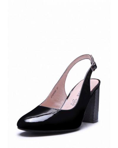 Кожаные туфли с открытой пяткой Alessio Nesca