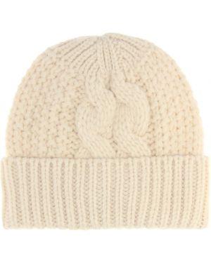 Шерстяная шапка бини - белая Acne Studios