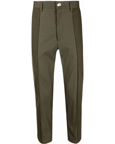Zielone spodnie z paskiem Goodfight