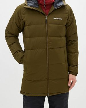 Зимняя куртка осенняя зеленая Columbia