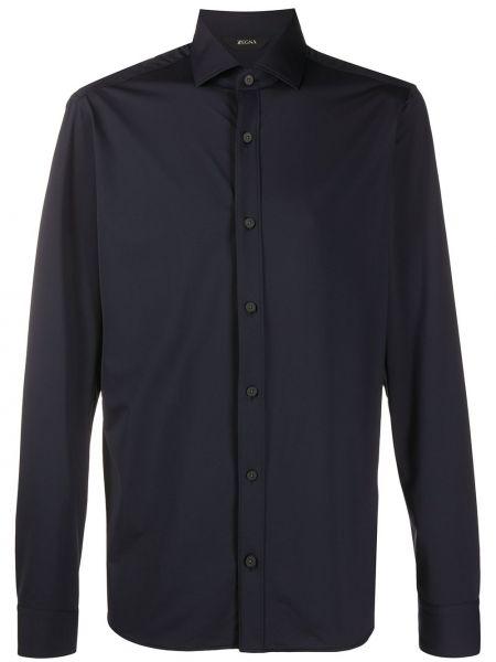 Koszula z długim rękawem klasyczna wyposażone Z Zegna