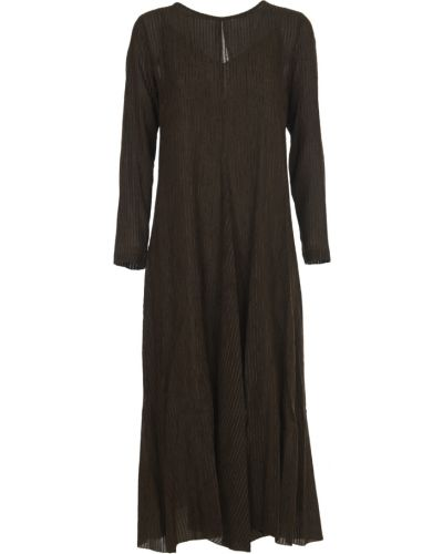 Brązowa sukienka Pomandere