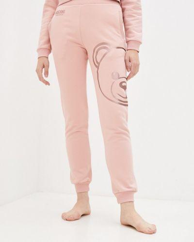 Спортивные брюки - розовые Moschino Underwear