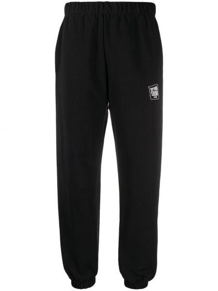 Черные хлопковые спортивные брюки Opening Ceremony