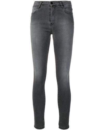 Черные укороченные джинсы в стиле бохо с пайетками Brocken Bow