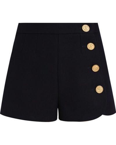 Короткие шорты шерстяные на пуговицах Redvalentino