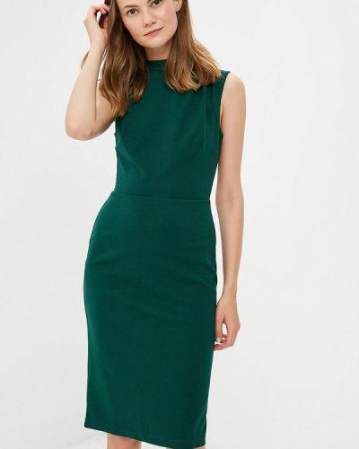 Зеленое платье льняное Dorothy Perkins