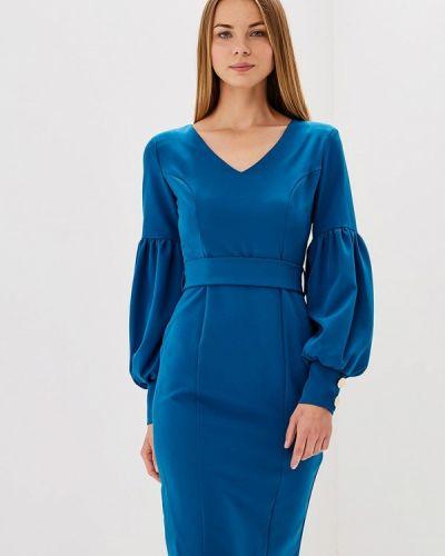 Синее платье Bruebeck