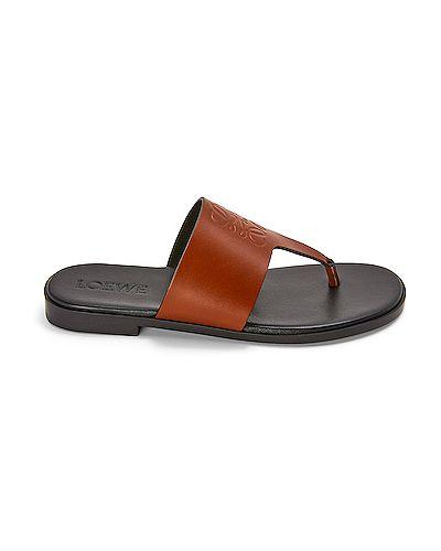 Sandały skorzane Loewe