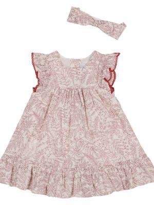 Хлопковое платье - розовое Tartine Et Chocolat