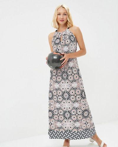 Платье с открытыми плечами осеннее Wallis