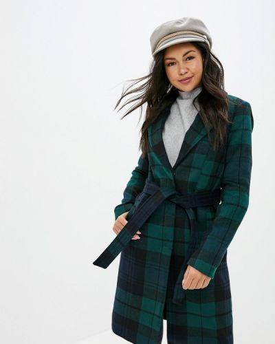 Пальто демисезонное зеленое Vero Moda