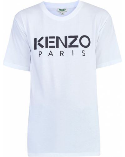 Футболка хлопковая трикотажная Kenzo