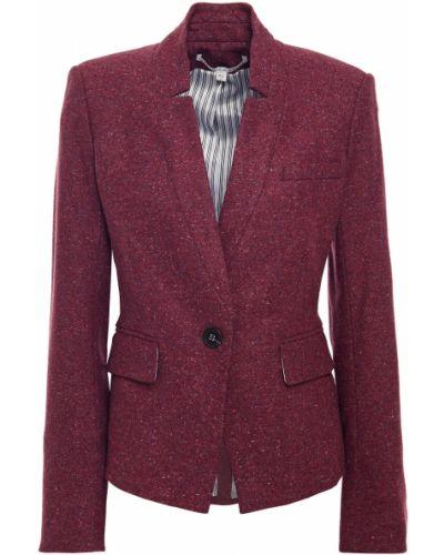 Фиолетовый пиджак твидовый с подкладкой Veronica Beard