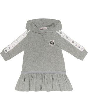 Платье макси стрейч Moncler Enfant