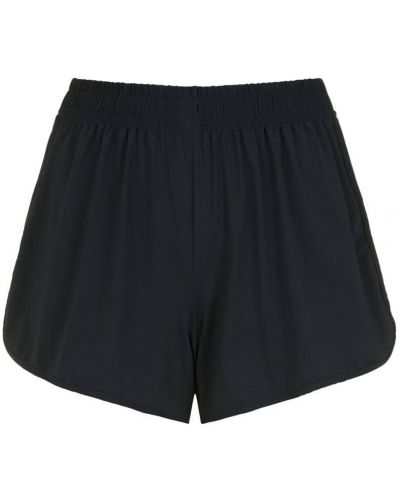 Черные короткие шорты эластичные Lygia & Nanny