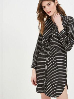 Платье черное Sisley